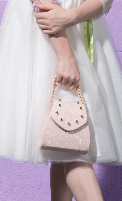 Elegante mini bag glittery phard