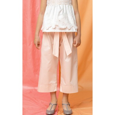Pantaloni coulotte in cotone phard